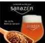 Bière Sarrazin blonde 75cl ou 4x33cl (vidange comprise)