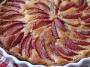 Tarte aux prunes fraîches 6 pers